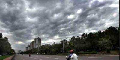 ملک کے بیشتر علاقوں میں موسم گرم اور خشک رہے گا