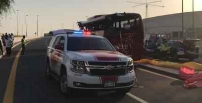 دبئی میں بس کو حادثے کے نتیجے میں ایک پاکستانی شہری سمیت 17 افراد جاں بحق اور 3 زخمی