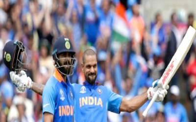 کرکٹ ورلڈ کپ : بھارت نے آسٹریلیا کو فتح کیلئے 353 رنز کا ہدف دیدیا