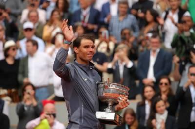 رافیل نڈال نے 12 مرتبہ فرنچ اوپن ٹینس ٹورنامنٹ جیت کر ریکارڈ قائم کردیا