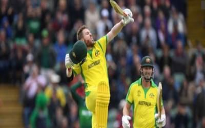 کرکٹ ورلڈ کپ : آسٹریلیا نے پاکستان کو فتح کے لیے 308 رنز کا ہدف دیدیا