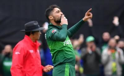 ورلڈ کپ 2019 :محمد عامر سب سے زیادہ وکٹیں لینے والے باﺅلر بن گئے