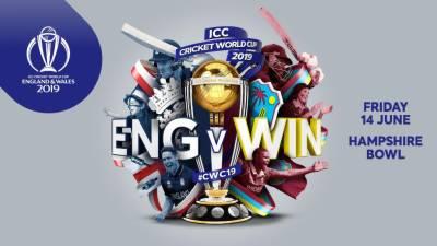 ورلڈ کپ ،آج ویسٹ انڈیز اور انگلینڈ کا مقابلہ ہوگا