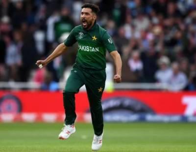 محمد عامر ورلڈ کپ کے اگلے میچ میں بھارت کو ہرانے کیلئے پرعزم