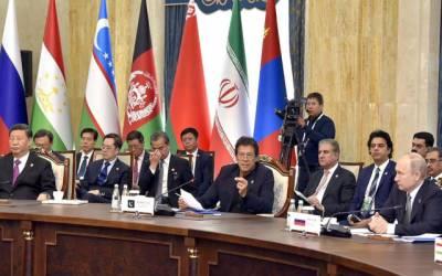 وزیراعظم عمران خان نے شنگھائی کارپوریشن اجلاس میں آٹھ نکاتی ایجنڈا پیش کر دیا