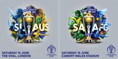 ورلڈ کپ میں آج دو میچ کھیلے جائیں گے