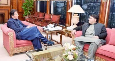 وزیراعظم عمران خان سے چیف آرگنائزرپی ٹی آئی سیف اللہ خان نیازی کی ملاقات