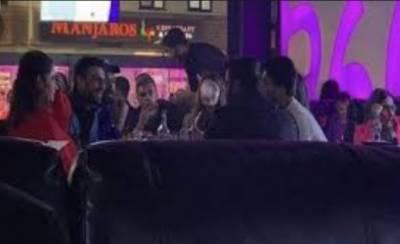 بھارت کیخلاف میچ سے ایک رات قبل قومی ٹیم کے کھلاڑیوں کی شیشہ کلب میں ویڈیو منظر عام پر آگئی