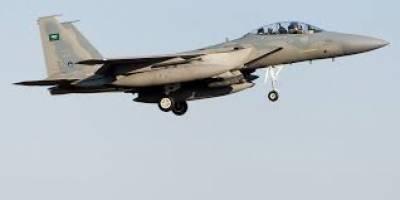 سعودی رائل ایئر فورس کے ایف 15طیاروں کی امریکی فضائیہ کے ایف 15 لڑاکا طیاروں کے ہمراہ مشترکہ پروازیں