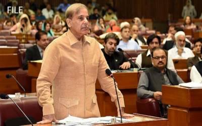قومی اسمبلی میں اپوزیشن لیڈر کے خطاب پر ہنگامہ آرائی ، اجلاس کل تک ملتوی