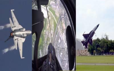 جے ایف 17 تھنڈر کی پیرس ائیر شو میں دھوم ، گھن گرج سے شرکا حیران رہ گئے