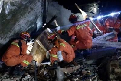 چین میں زلزلے سے ہلاکتوں کی تعداد 12 ہو گئی