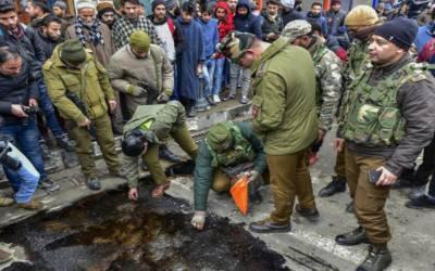 مقبوضہ کشمیر میں پولیس سٹیشن پر گرنیڈ حملے کے دوران سات کشمیری زخمی