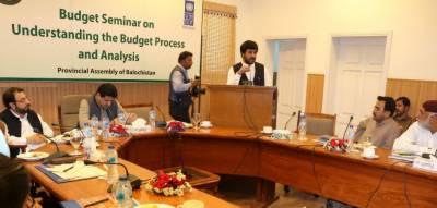 بلوچستان کے آئندہ مالی سال کے بجٹ کا حجم413 ارب اور خسارہ41ارب روپے ہو گا