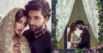 اداکارہ سجل علی اور احد رضامیر کی شادی عیدالاضحی کے بعد ہو گی