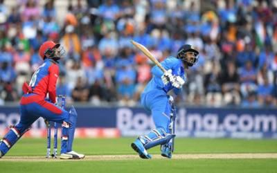 کرکٹ ورلٹ کپ : بھارت کی افغانستان کیخلاف بیٹنگ جاری