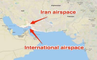 عالمی فضائی کمپنیوں کا ایرانی فضائی حدود کو استعمال کرنے سے گریز