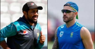 ورلڈ کپ،پاکستان کی جنوبی افریقہ کیخلاف ٹاس جیت کر بیٹنگ جاری