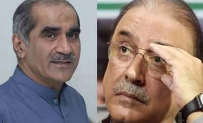 سعد رفیق کی آصف زرداری سے ملاقات، سیاسی صورتحال پر تبادلہ خیال