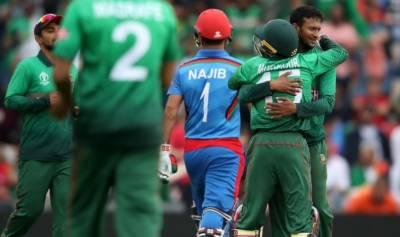 بنگلادیش نے افغانستان کو شکست دے دی