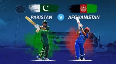 ورلڈ کپ،افغاانستان کی پاکستان کیخلاف ٹاس جیت کر بیٹنگ جاری