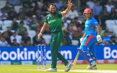 کرکٹ ورلڈ کپ :افغانستان نے پاکستان کو فتح کے لیے 228رنز کا ہدف دیدیا