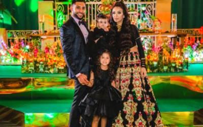 برطانوی باکسر عامر خان کا اپنی بیٹی کی سالگرہ پر عظیم الشان پارٹی کا انعقاد