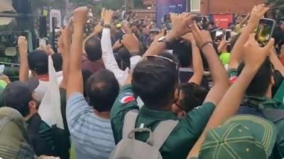 افغانی فینز کا پاکستانی سپورٹر پر بدترین تشدد، آئی سی سی نے بڑا اعلان کر دیا