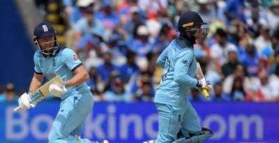 انگلینڈ نے بھارت کوجیت کےلیے 338 رنز کا بڑا ہدف دے دیا