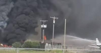 امریکی ریاست ٹیکساس میں چھوٹا طیارہ گر کر تباہ، 10 افراد ہلاک