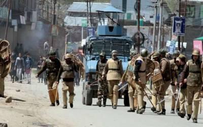 مقبوضہ کشمیر : بھارتی افواج نے ایک ماہ کے دوران28معصوم کشمیریوں کاخون بہایا