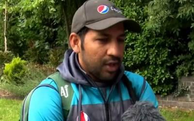 بنگلہ دیش کیخلاف میچ کیلئے پوری تیاری کیساتھ میدان میں اترینگے:سرفراز احمد