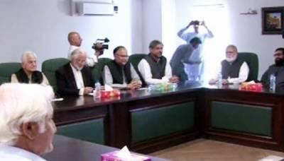 اپوزیشن کی رہبر کمیٹی نے نیا چیئرمین سینیٹ (ن) سے ہونے کی منظوری دیدی