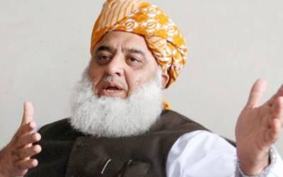 حکومت ہر حد پار گئی ، 6جولائی کو چیئرمین سینیٹ کیخلاف تحریک پیش کرینگے:فضل الرحمن
