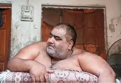 صادق آباد کا رہائشی موٹاپے کا شکار نورالحسن انتقال کرگیا