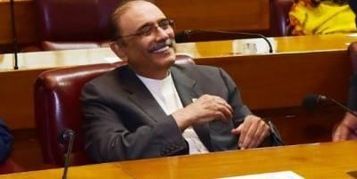 پاکستان اسٹیل ملز حکومت سندھ کا قیمتی اثاثہ ہے، سابق صدر آصف زرداری