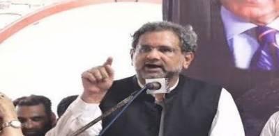 عوام پر سلیکٹڈوزیراعظم کو مسلط کیا گیا ہے، شاہدخاقان عباسی