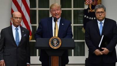 ٹرمپ کا فوجی تنصیبات کے تحفظ کیلئے فوجی اتحاد بنانے کا اعلان