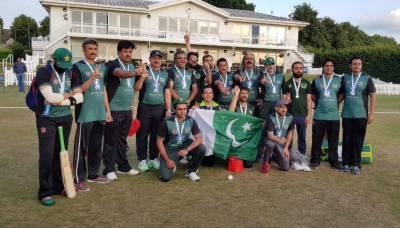 بنگلہ دیش کو شکست،پاکستا ن نے انٹر پارلیمنٹری کرکٹ ورلڈ کپ جیت لیا