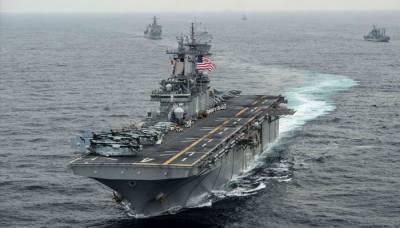 امریکا کا آبنائے ہرمز میں ایرانی ڈرون مار گرانے کا دعویٰ