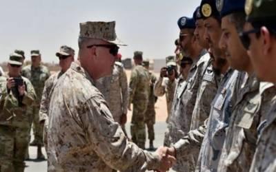 امریکہ کا سعودی عرب میں اپنی افواج اتارنے کا اعلان ، شاہ سلمان کا گرین سگنل