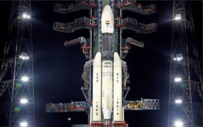 """بھارت نے اپنے خلائی جہاز """"چندریان ٹو""""کو کامیابی سے خلا میں بھیج دیا"""