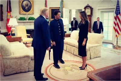 میلانیا ٹرمپ نے عمران خان سے ملاقات کو خوشگوار قرار دیدیا
