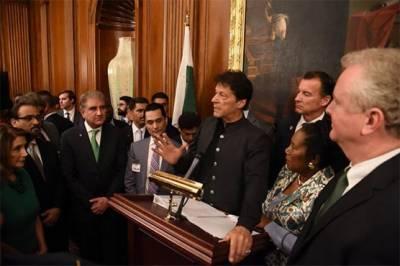 پاکستان نے دہشت گردی کے خلاف امریکی جنگ لڑی، وزیراعظم