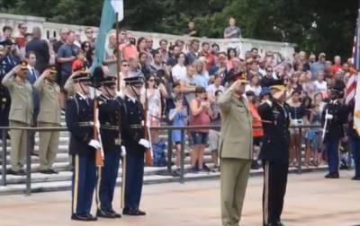 آرمی چیف کا دورہ پینٹاگون،21 توپوں کی سلامی دی گئی