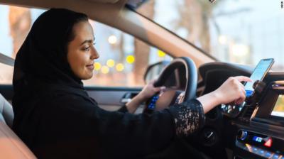 سعودی عرب میں بیرون ملک سے خواتین ڈرائیوروں کےلئے181 ویزے جاری