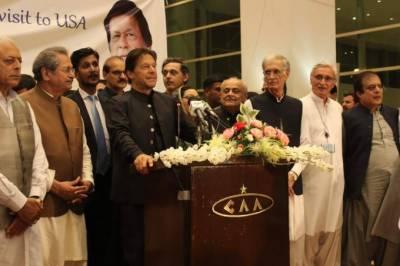 آج ایسا لگ رہاہے جیسے میں ورلڈ کپ جیت کے آیا ہوں:وزیراعظم عمران خان