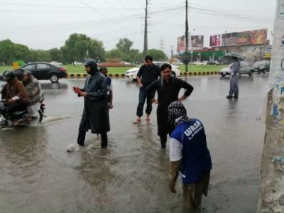 لاہور سمیت ملک بھر میں مون سون بارش سے موسم خوشگوار