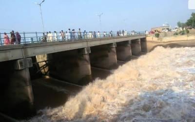 بھارت نے بگلیہارڈیم سے دریائے چناب میں پانی چھوڑ دیا