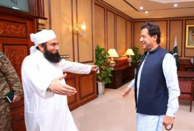 وزیراعظم کی مولانا طارق جمیل سے ملاقات،مذہبی اور دیگر امور پر تبادلہ خیال کیا